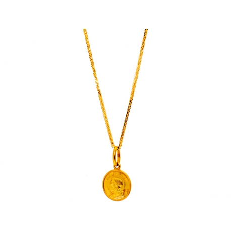 Złoty medalik: G-P002