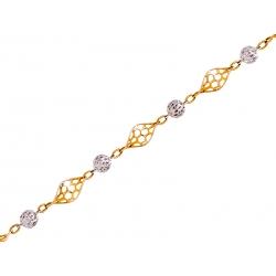 Bransoleta złota: G-B006