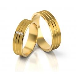 Obrączki złote