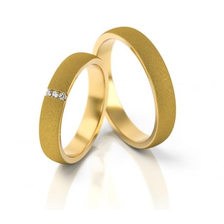 Obrączki złote PZ Stelmach numer wzoru: PZS-261