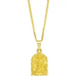 Złoty medalik - G-P051