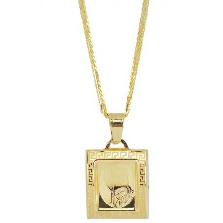 Złoty medalik - G-P060