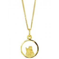 Złoty medalik - G-P090