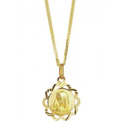 Złoty medalik - G-P059