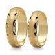 Obrączki złote PZ Stelmach numer wzoru: PZS-124