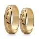Obrączki złote PZ Stelmach numer wzoru: PZS-133