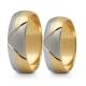 Obrączki złote PZ Stelmach numer wzoru: PZS-138