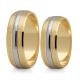 Obrączki złote PZ Stelmach numer wzoru: PZS-146