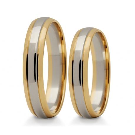 Obrączki złote PZ Stelmach numer wzoru: PZS-239