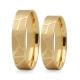Obrączki złote PZ Stelmach numer wzoru: PZS-271