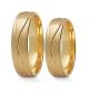 Obrączki złote PZ Stelmach numer wzoru: PZS-282