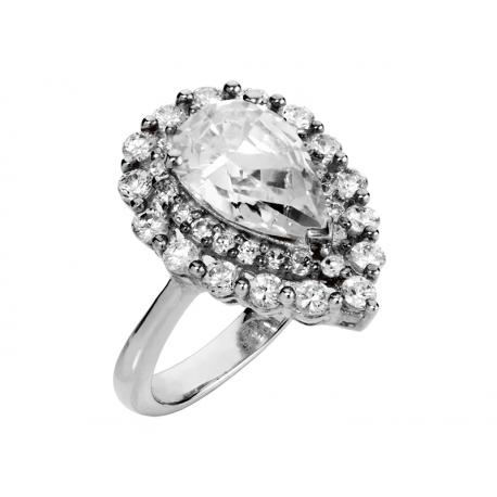 Pierścionek srebrny: SGR028