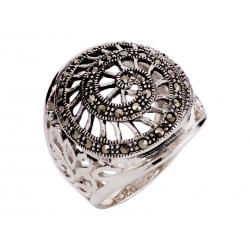 Pierścionek srebrny: SGR033