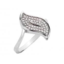 Pierścionek srebrny: SGR039