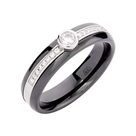 Pierścionek srebrny: SGR041