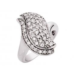 Pierścionek srebrny: SGR042