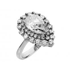 Pierścionek srebrny: SGR045