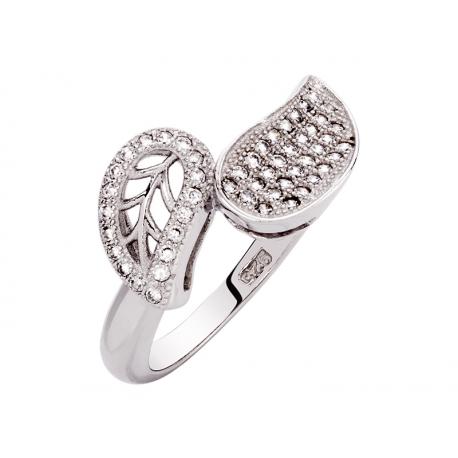 Pierścionek srebrny: SGR046