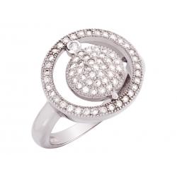 Pierścionek srebrny: SGR048