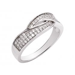 Pierścionek srebrny: SGR057