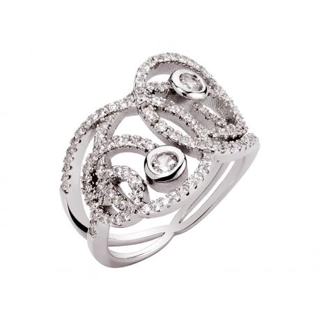 Pierścionek srebrny: SGR058